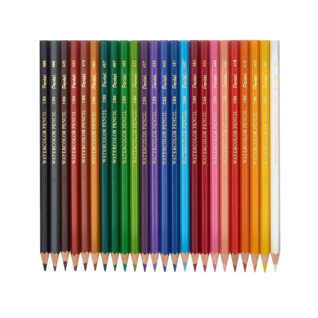 Pentel Arts Farbičky akvarelové / 24 ks
