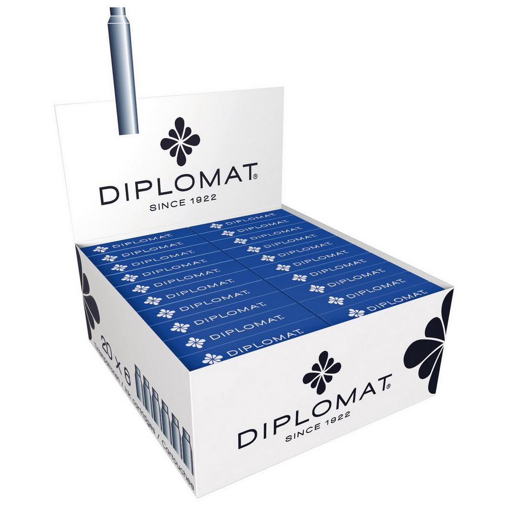 Diplomat Bombičky, modré / 6 ks