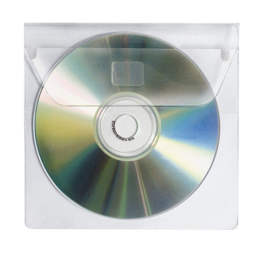 Obal na 1ks CD samolepiaci, lesklý