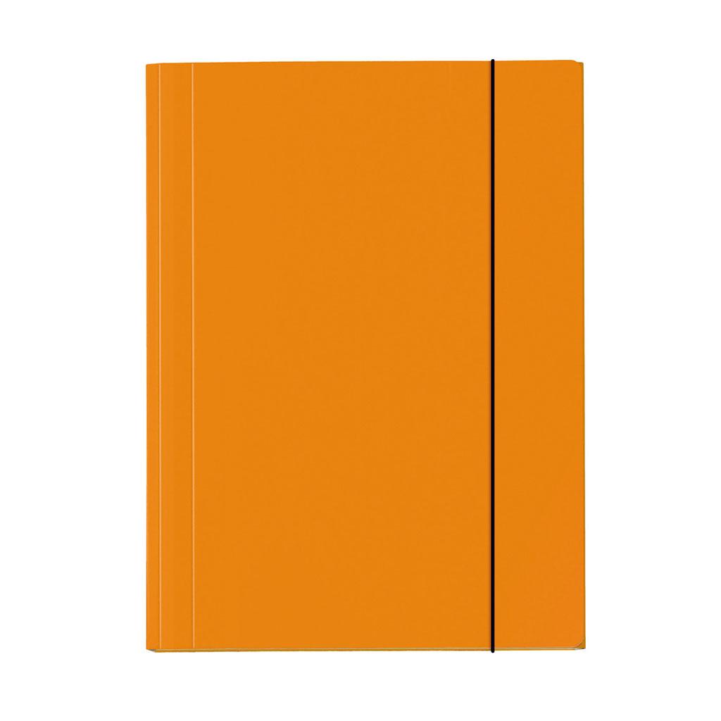 Odkladacia mapa OM 3 s gumou A3 Velocolor, oranžová