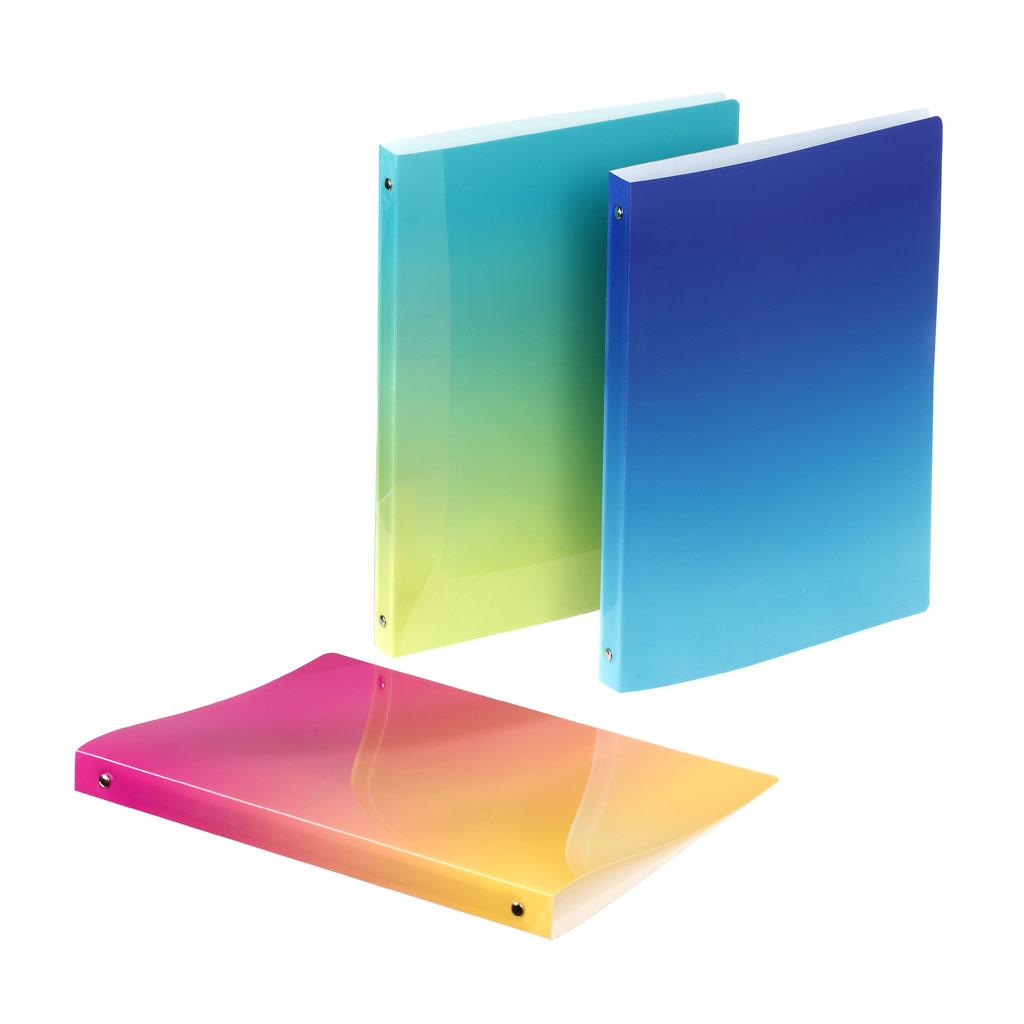 Viquel Karisblok Sunset, 4-krúž., A4, 2,5 cm, PP, mix farieb