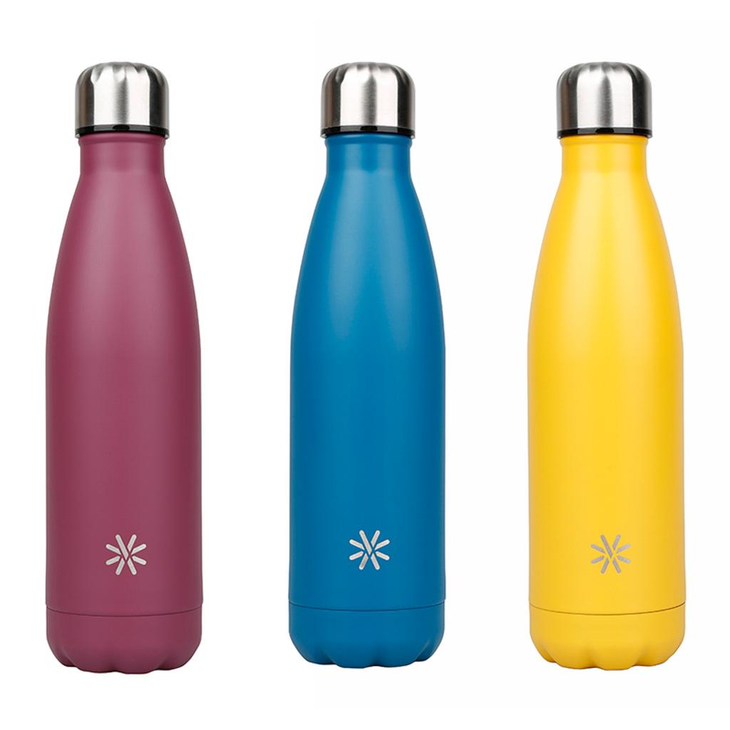 Viquel Izotermická fľaša Aqua, 0,5 l, ušľachtilá oceľ, mix farieb