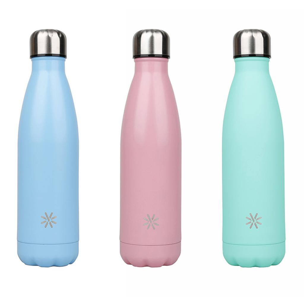 Viquel Izotermická fľaša Aqua, 0,5 l, ušľachtilá oceľ, mix pastel. farieb