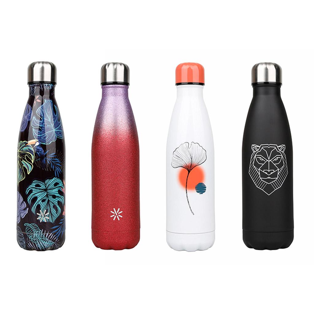 Viquel Izotermická fľaša Aqua, 0,5 l, ušľachtilá oceľ, mix motívov