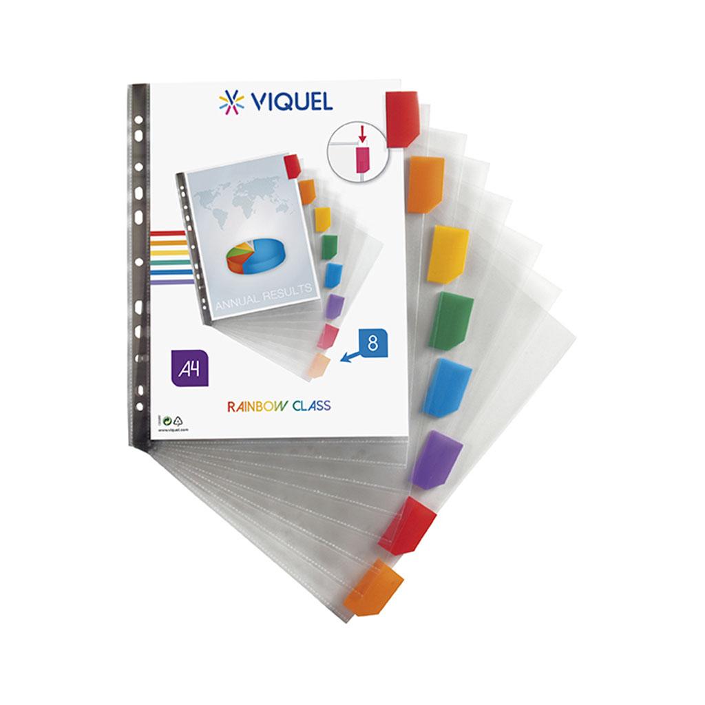 Viquel Euroobal prezentačný A4 s registrom, 8 štítkov