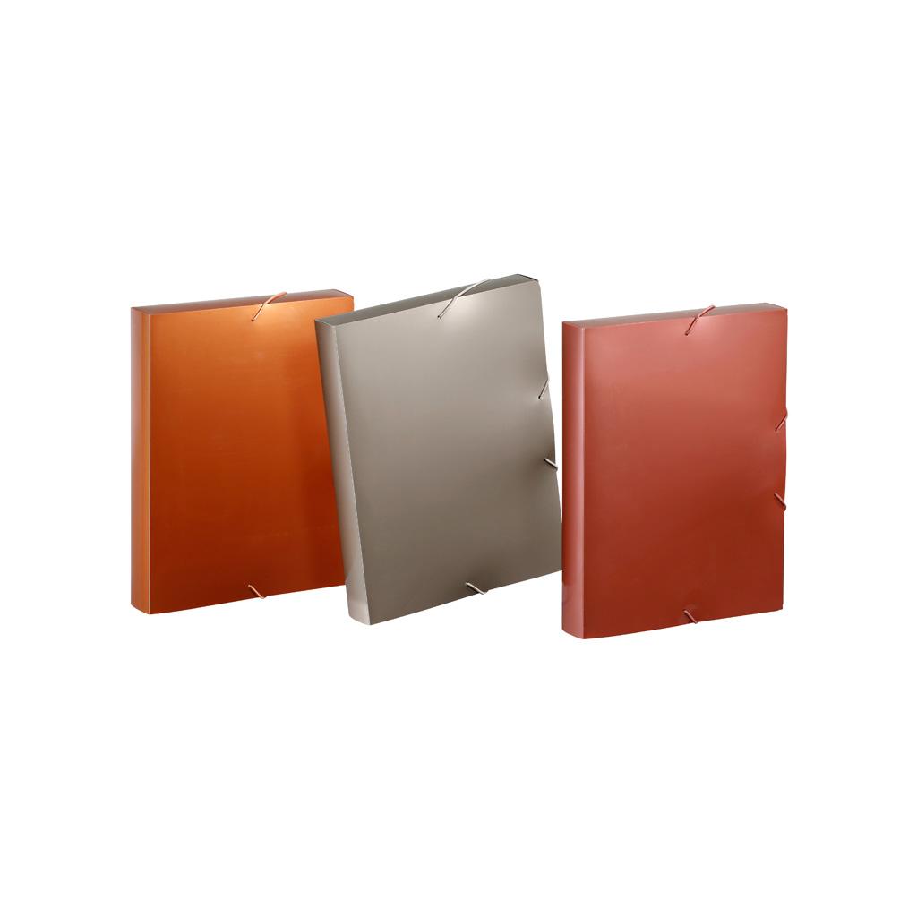 Viquel Box s gumičkou Absolu, A4, 4,5 cm, PP, mix farieb