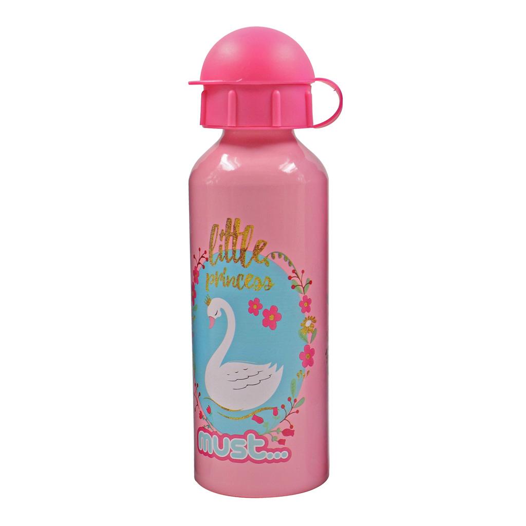Fľaša s vrchnákom, 500 ml, dievčenský motív