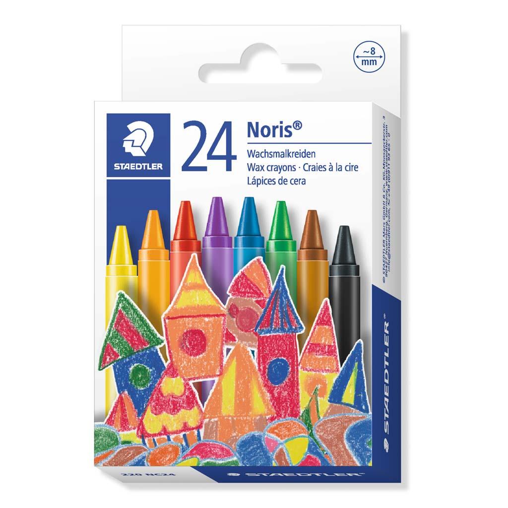 Staedtler Farbičky voskové / 24 ks