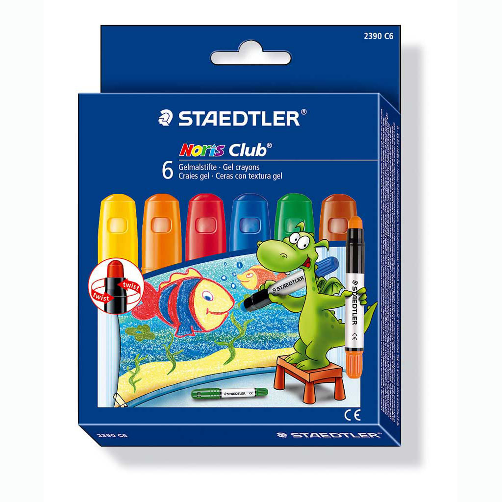 Staedtler Farbičky voskové gelové / 6 ks