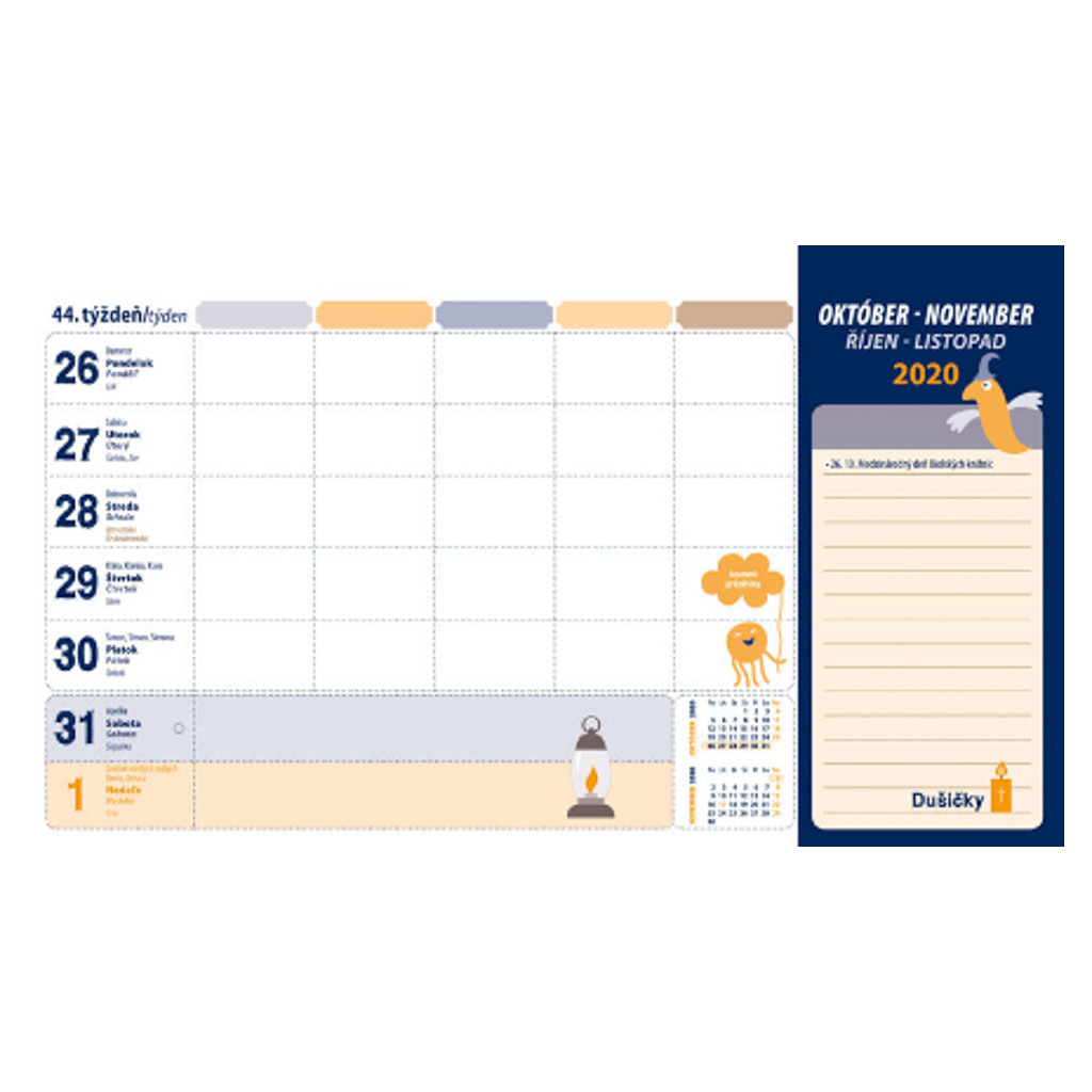 Školský kalendár 2020/2021 (SK- 300x170 mm)