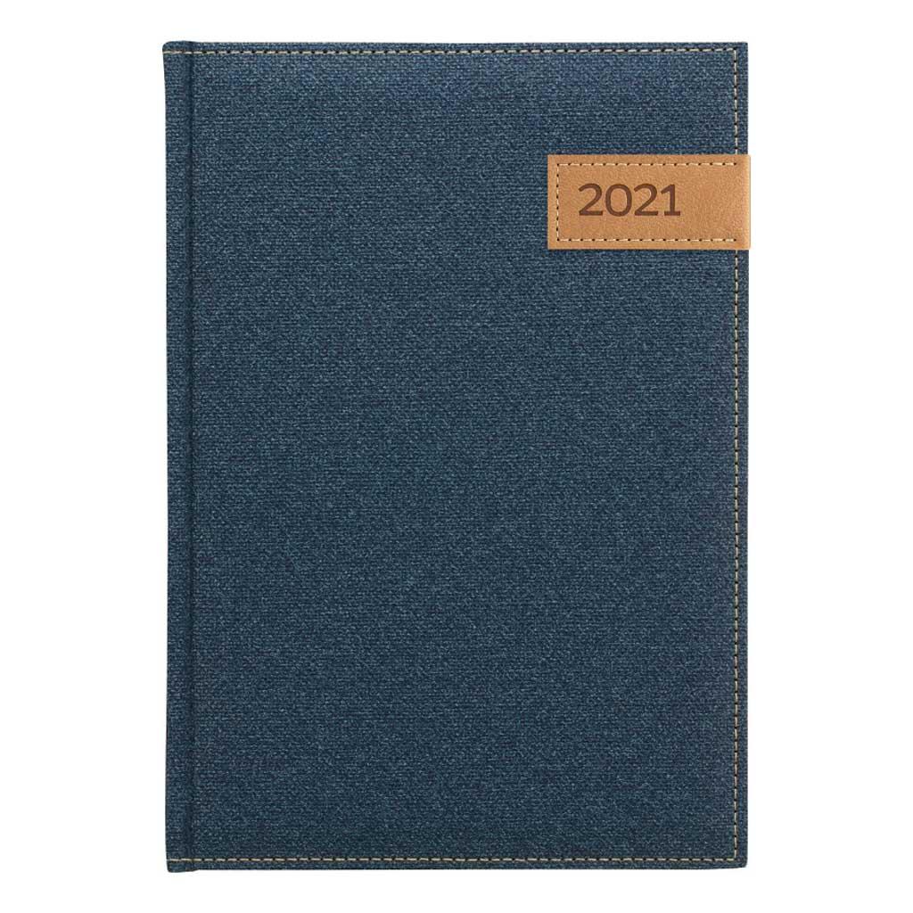 Denný diár DENIM 2021 / A5 (148x210 mm)