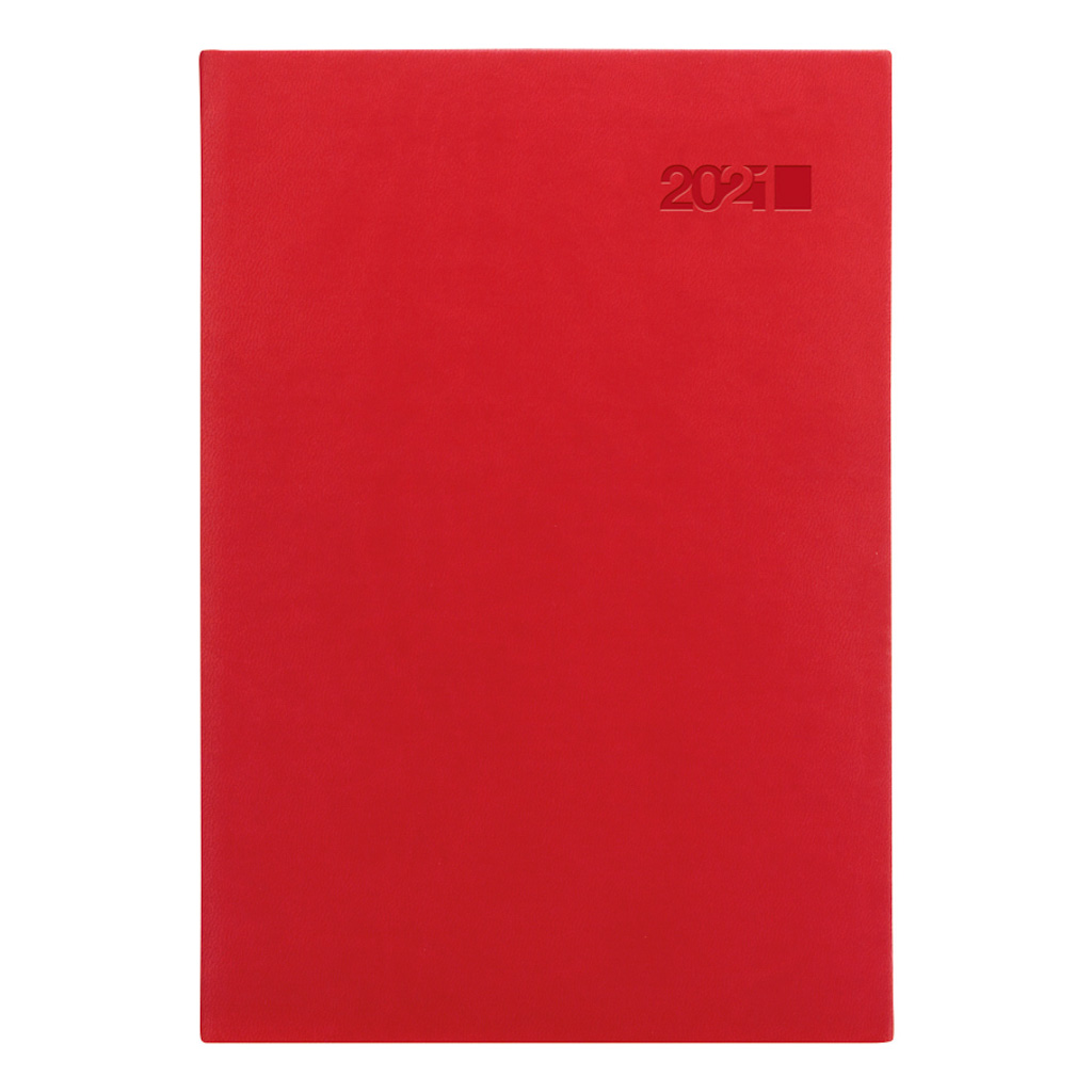 Týžd. diár VIVA červená 2021 / A5 (148x210 mm)