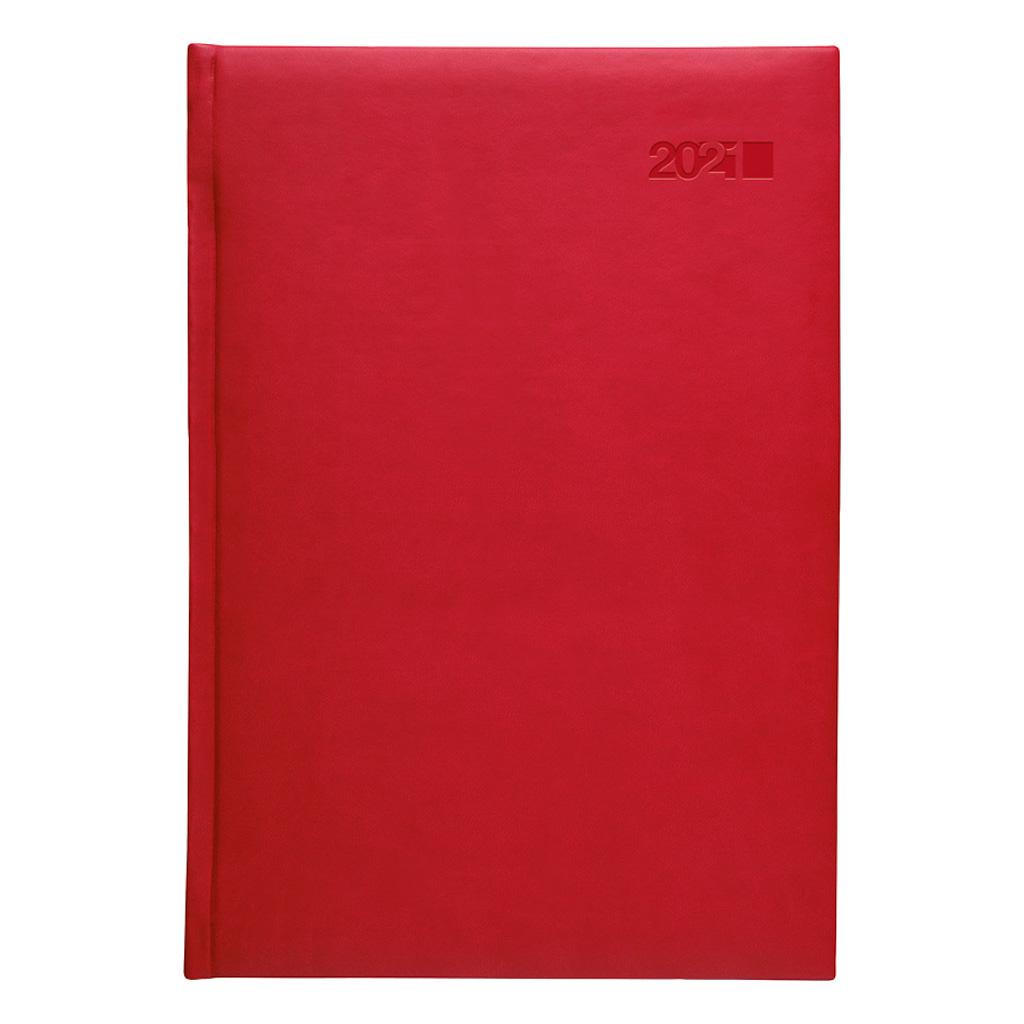 Týžd. diár VIVA červená 2021 / B5 (165x240 mm)