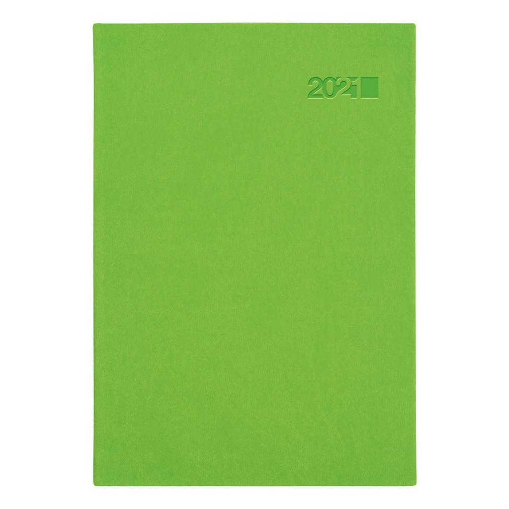 Týžd. diár VIVA zelená 2021 / A5 (148x210 mm)