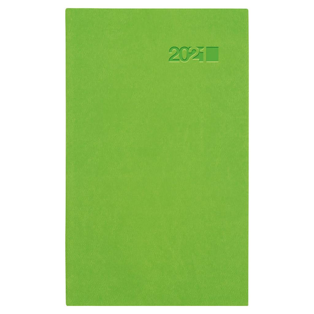 Vreck. diár VIVA zelená 2021 (90x150 mm)