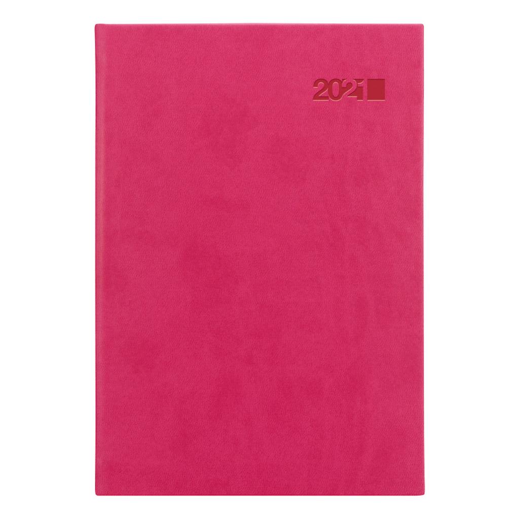 Denný diár VIVA ružová 2021 / A5 (148x210 mm)