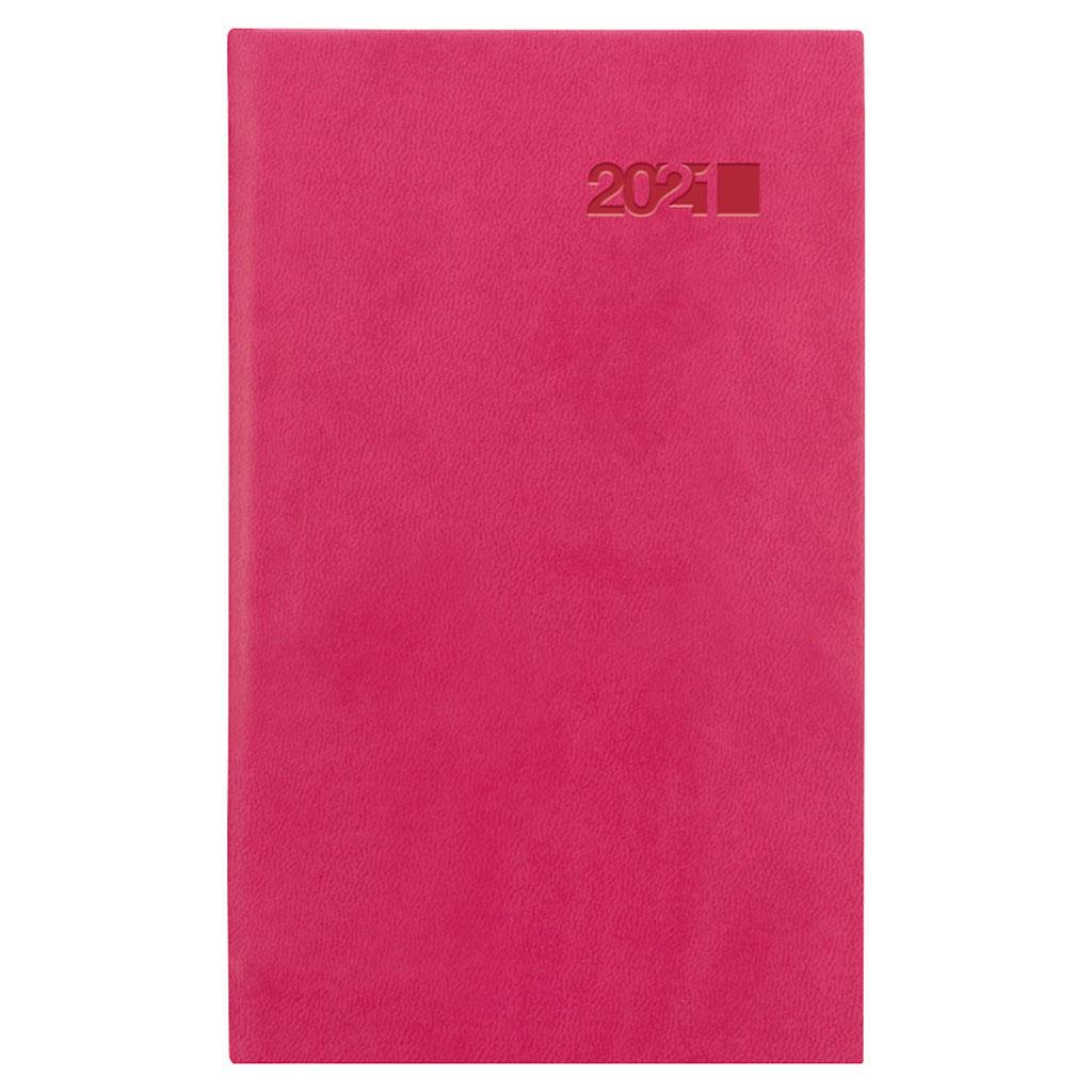 Vreck. diár VIVA ružová 2021 (90x150 mm)
