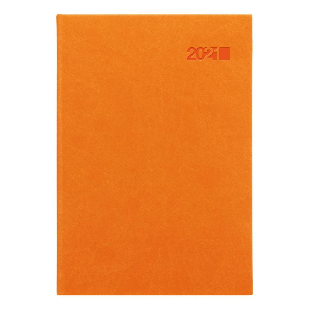 Denný diár VIVA oranžová 2021 / A5 (148x210 mm)
