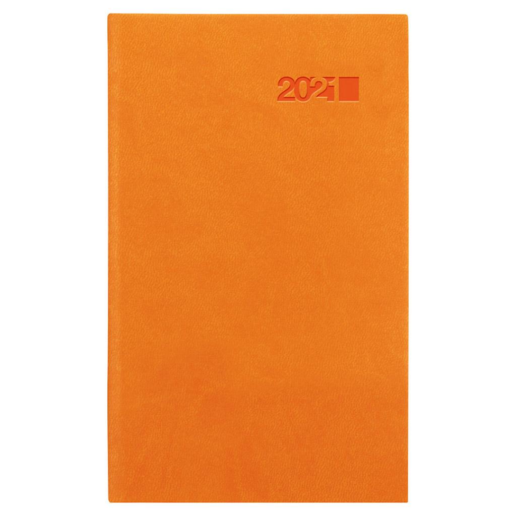 Vreck. diár VIVA oranžová 2021 (90x150 mm)