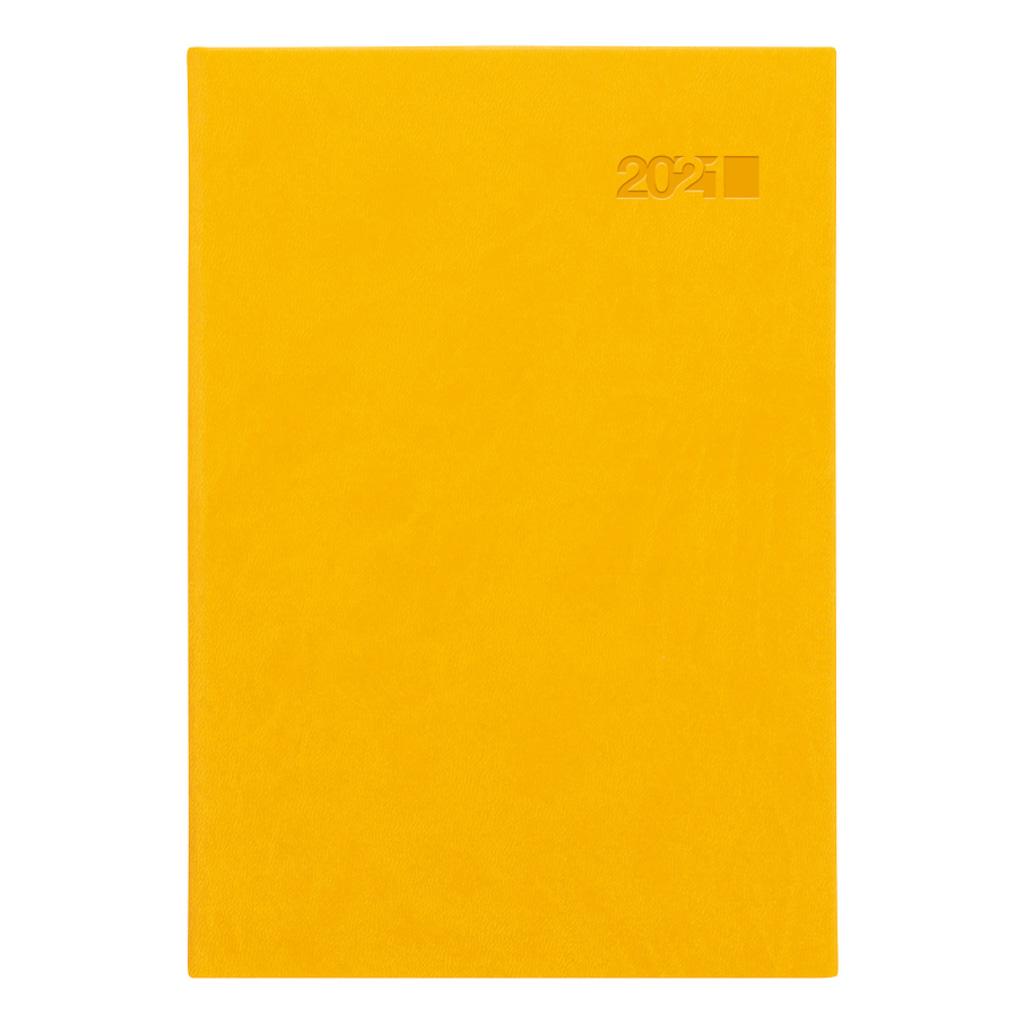 Denný diár VIVA žltá 2021 / A5 (148x210 mm)