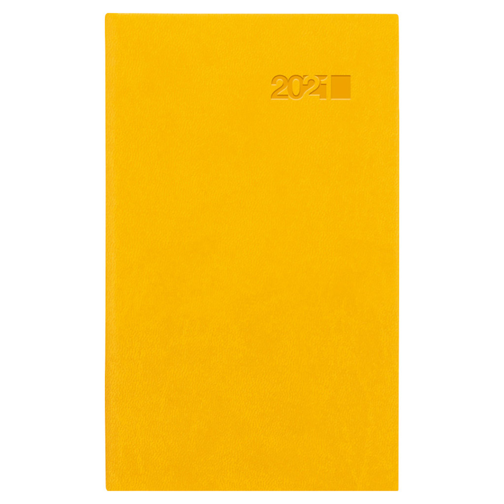 Vreck. diár VIVA žltá 2021 (90x150 mm)