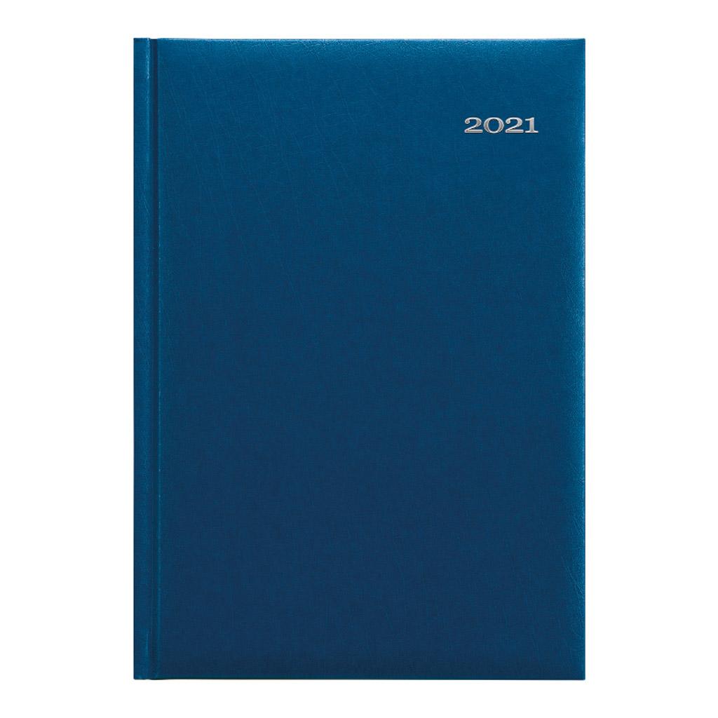 Denný diár KRONOS modrý 2021 / A5 (148x210 mm)
