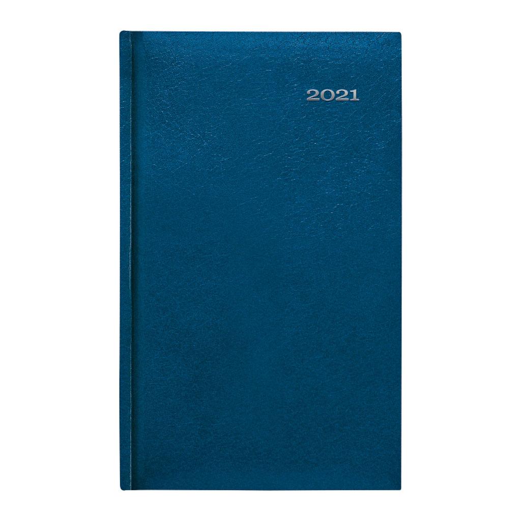 Vreck. diár KRONOS modrý 2021 (90x150 mm)