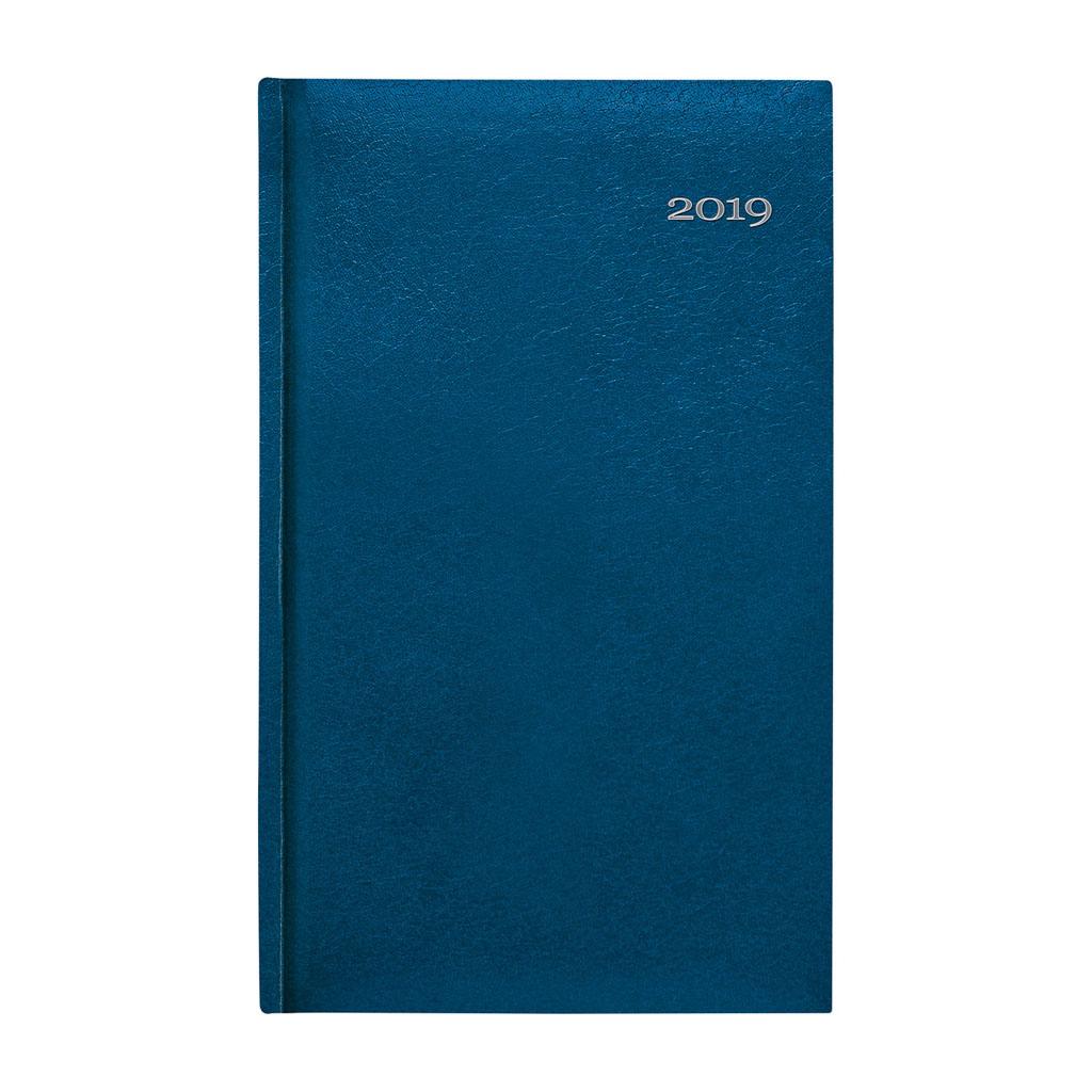 Vreck. diár Kronos modrý 2019 (90x150 mm)