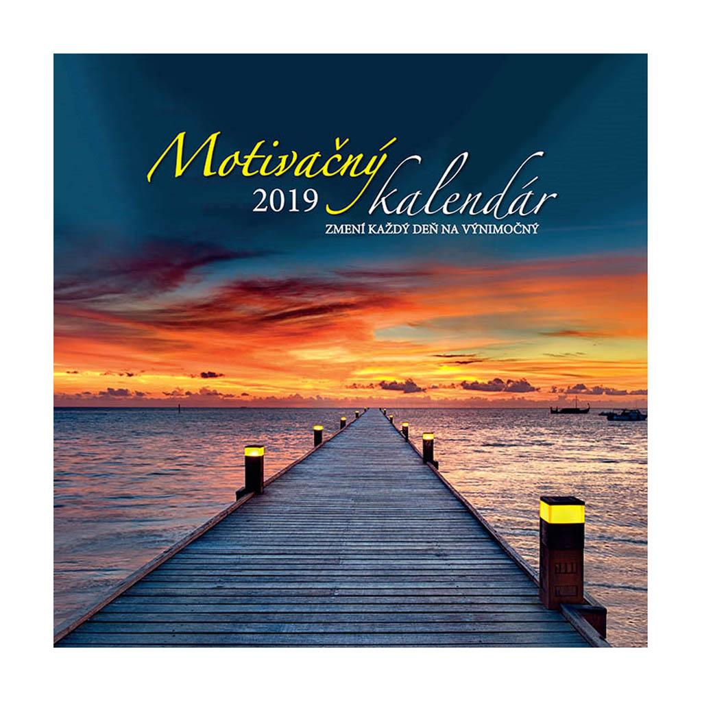 Motivačný kalendár 2019 / N52 (300x300 mm)