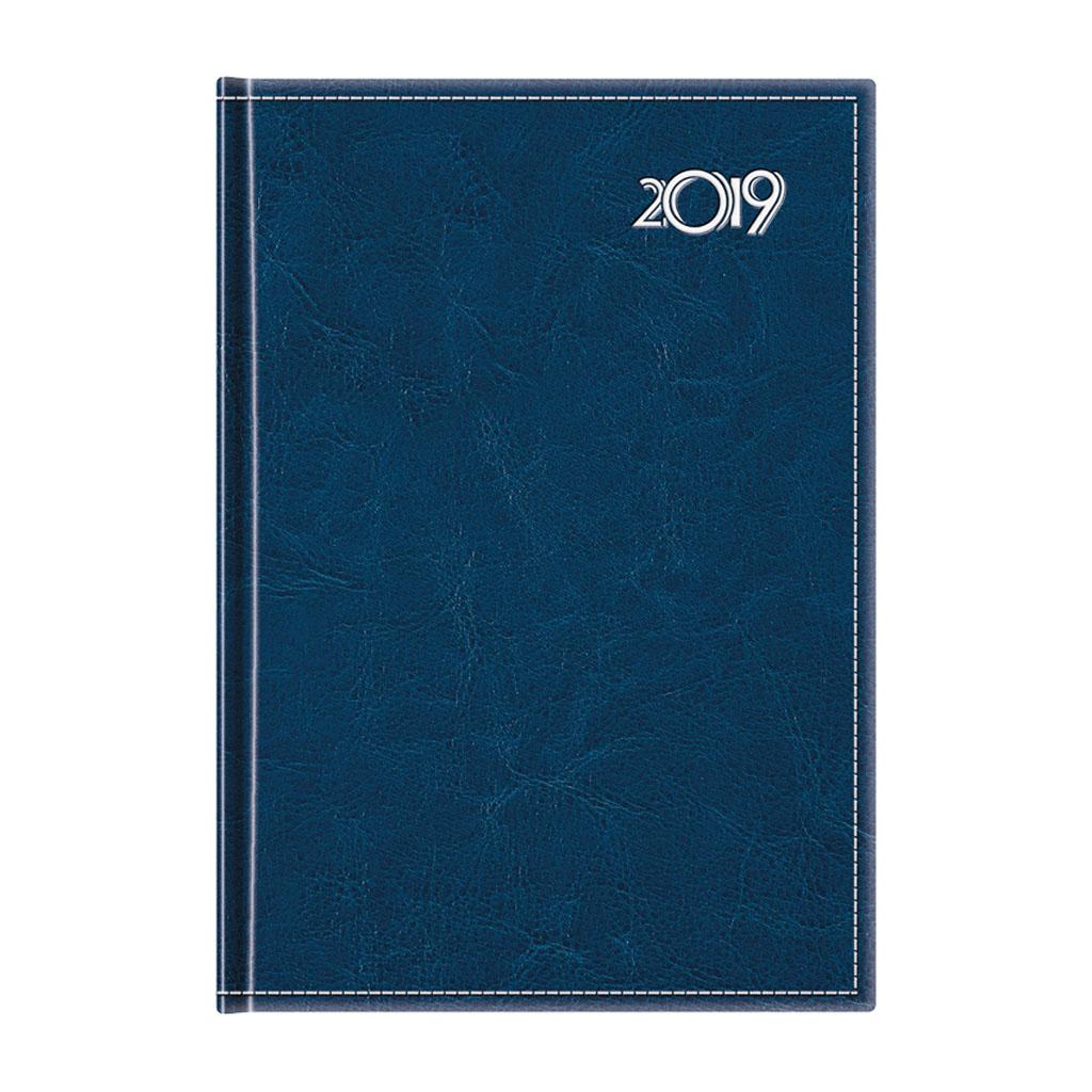 Denný diár NEAPOL, modrý 2019 / D57 (142x204 mm)