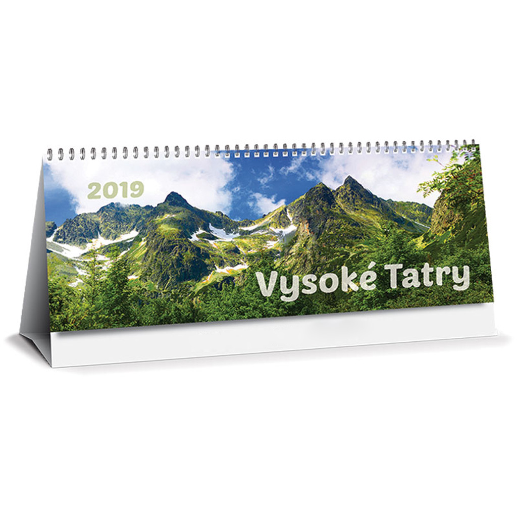 Vysoké Tatry 2019 SK (300x120 mm), riadkový