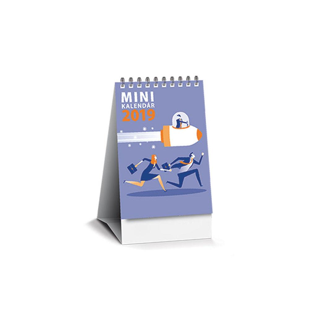 Minikalendár 2019 SK (75x105 mm), riadkový