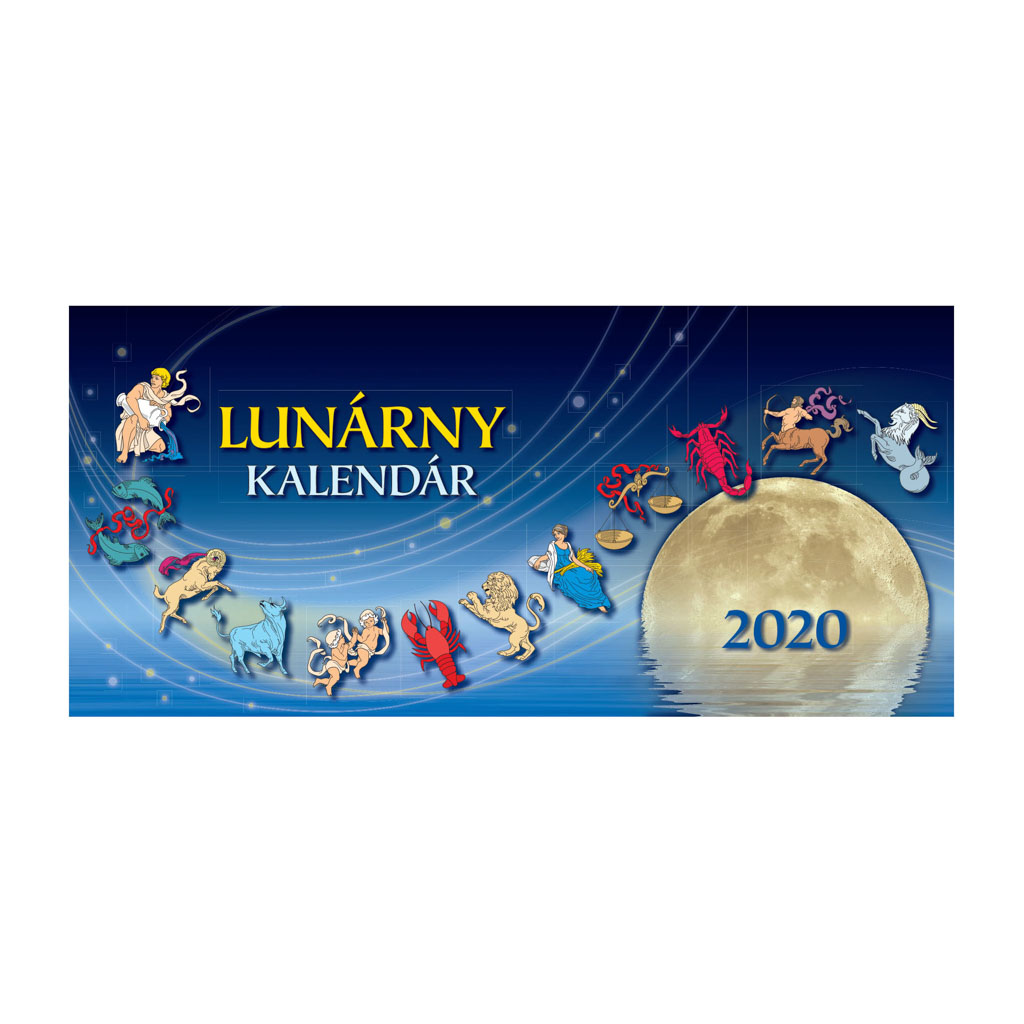 Lunárny kalendár 2020 / S01 (297x138 mm)