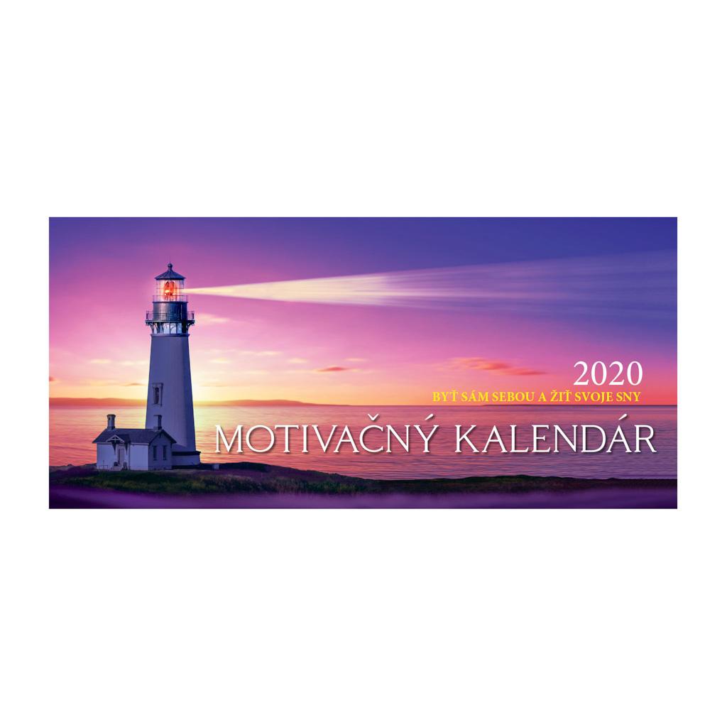Motivačný kalendár 2020 / S02 (297x138 mm)