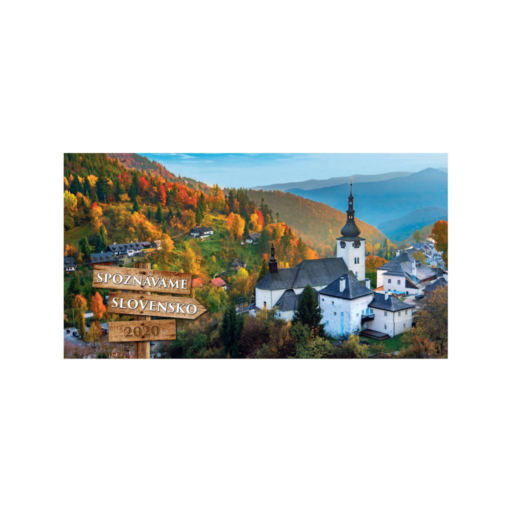 Spoznávame Slovensko 2020 / S06 (280x150 mm)