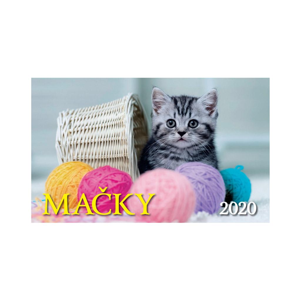 Mačky 2020 / S21 (230x140 mm)
