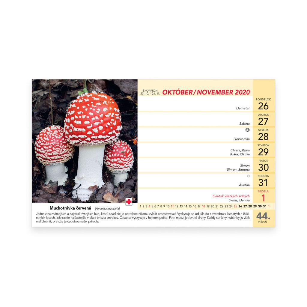 Hubársky kalendár 2020 / S23 (230x140 mm)
