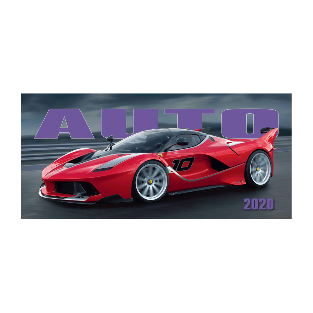 Autokalendár 2020 / S25 (297x138 mm)