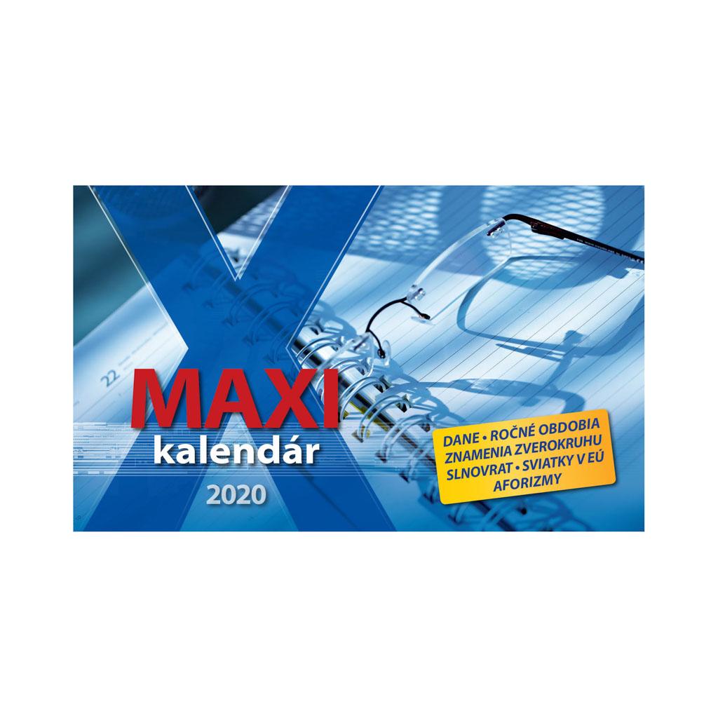 Maxi  kalendár 2020 / S29 (297x180 mm)