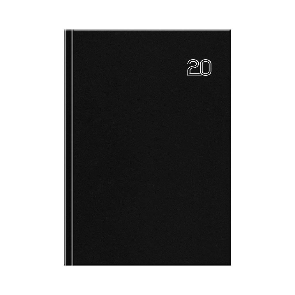 Manager diár FALCON čierny 2020 / D35 (B5- 170x240 mm)