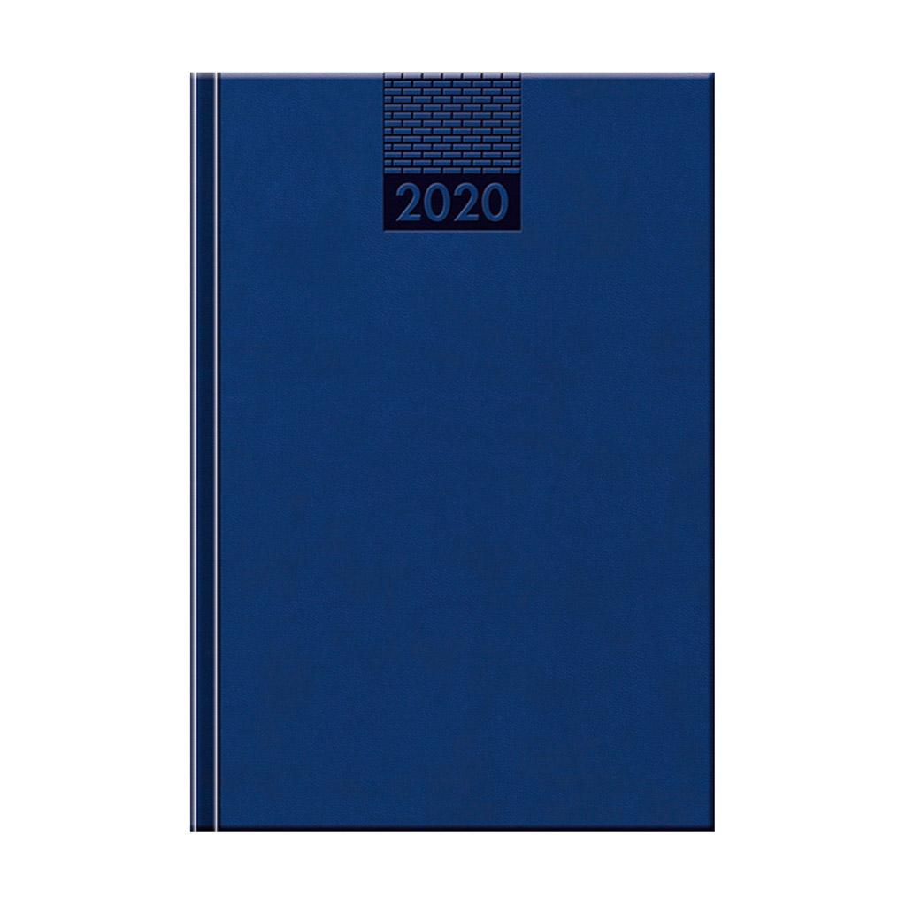 Denný diár VENETIA modrý 2020 / D43 (142x204 mm)