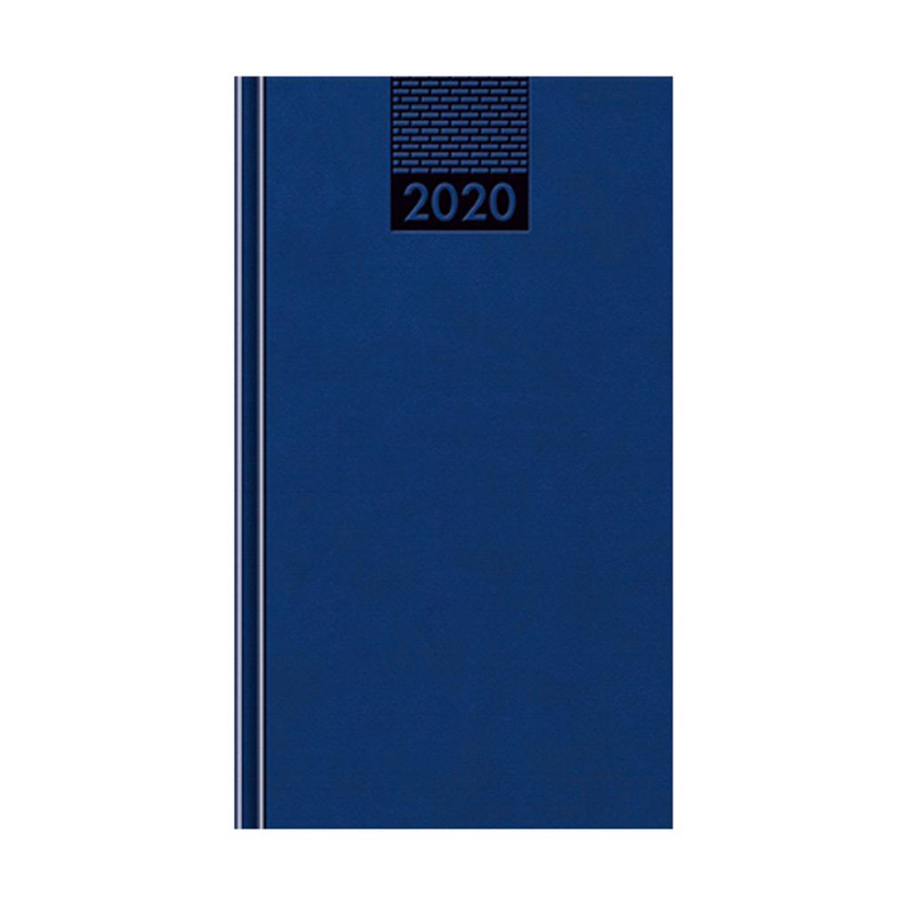 Minidiár VENETIA modrý 2020 / D51 (80x140 mm)