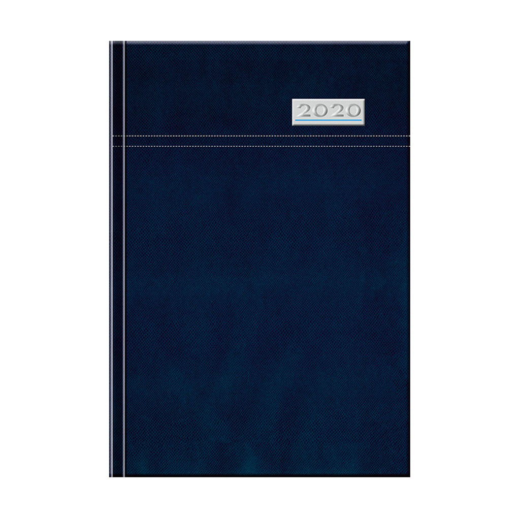 Denný diár TOSCANA modrý 2020 / D71 (142x204 mm)