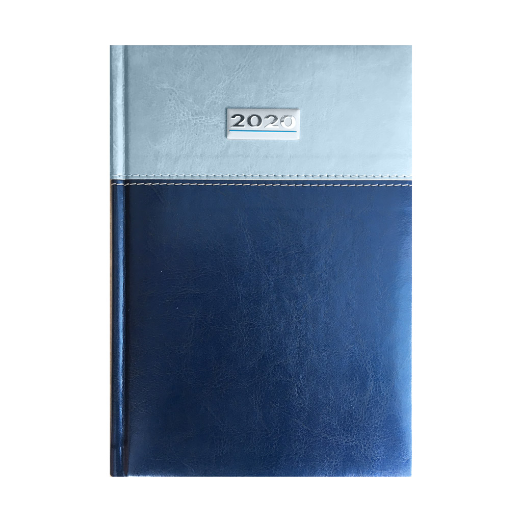 Denný diár TOSCANA modro-sivý 2020 (142x204 mm)