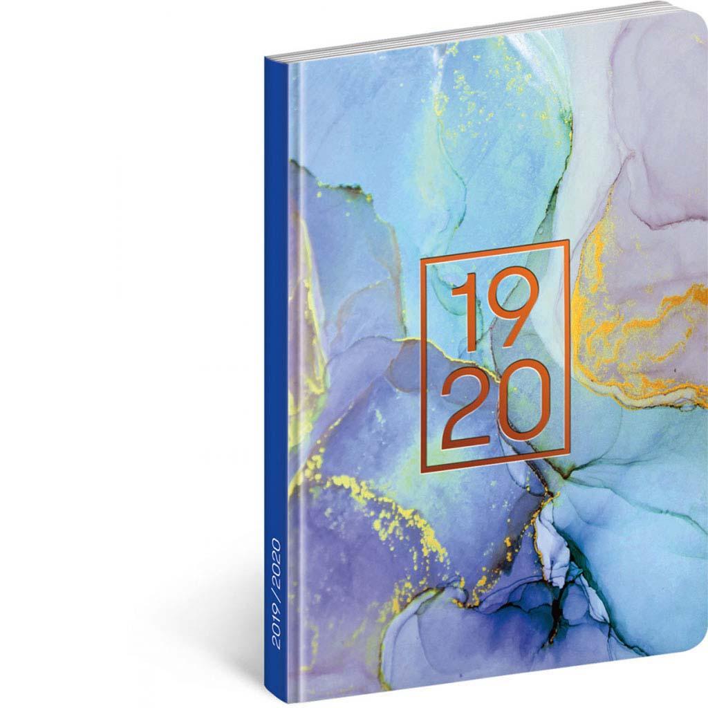 Diár Petito 2019/2020 – Mramor (110x170 mm), 18 mesač. CZ/SK