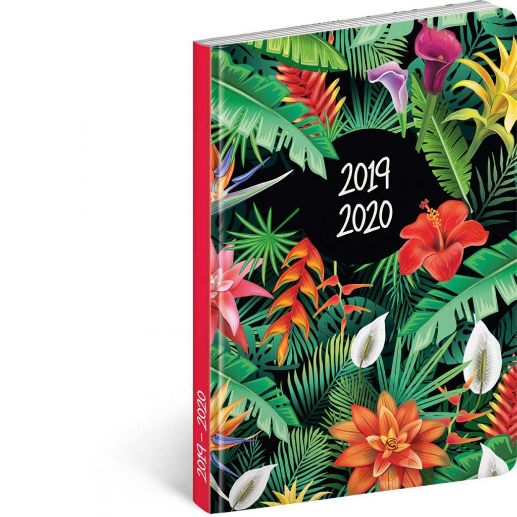 Diár Petito 2019/2020 – Tropic (110x170 mm), 18 mesač. CZ/SK