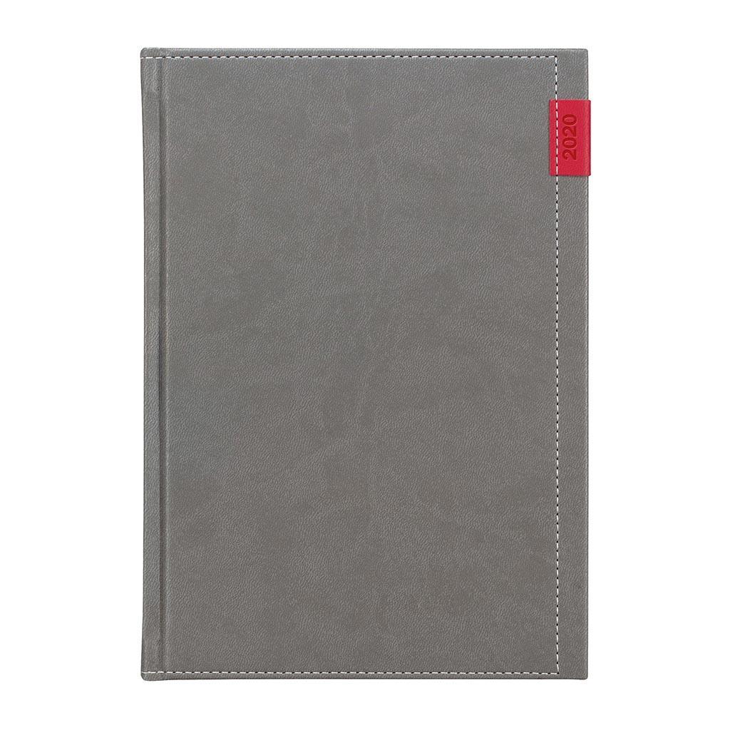 Týžd. pozn. diár JOY šedý 2020 / A5 (148x210 mm)