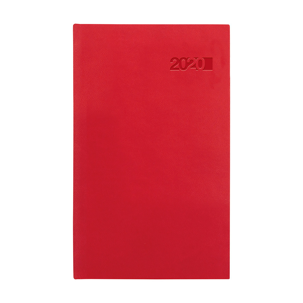 Vreck. diár VIVA červený 2020 (90x150 mm)