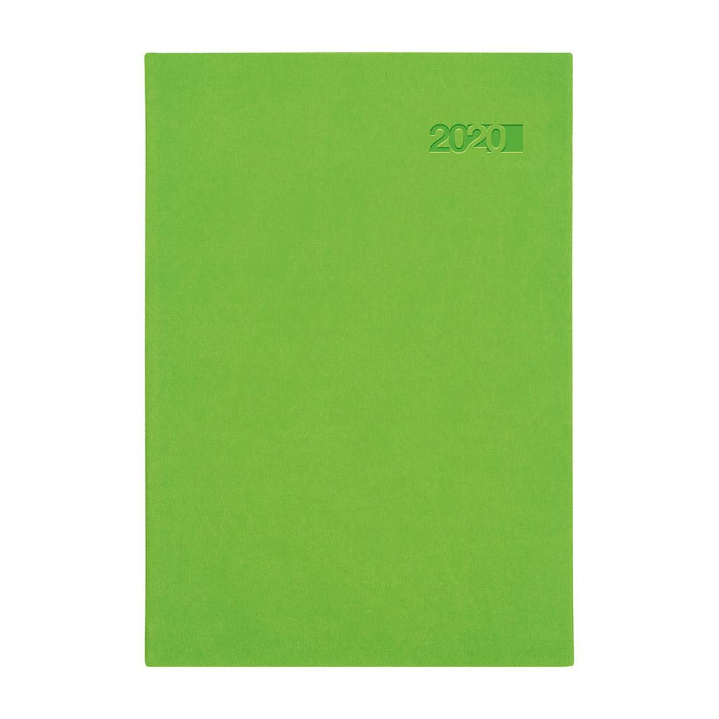 Denný diár VIVA zelený 2020 / A5 (148x210 mm)