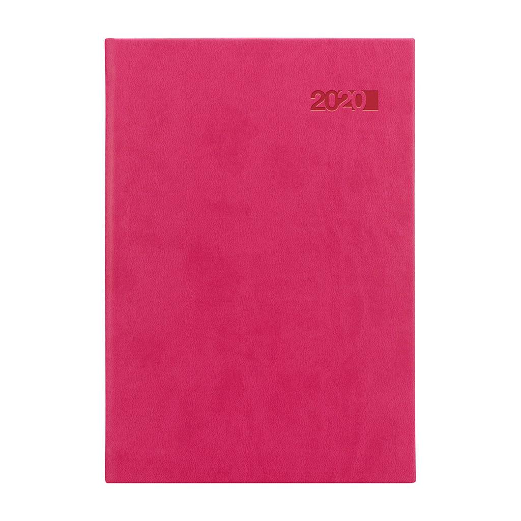 Denný diár VIVA ružový 2020 / A5 (148x210 mm)